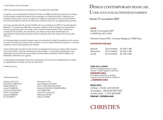 christies texte