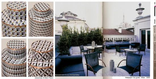 Cloisonnés St Marc Floors Diplomatic Suite Park Hyatt